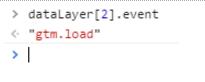 Récupération, en Javascript, d'un attribut de l'objet dataLayer