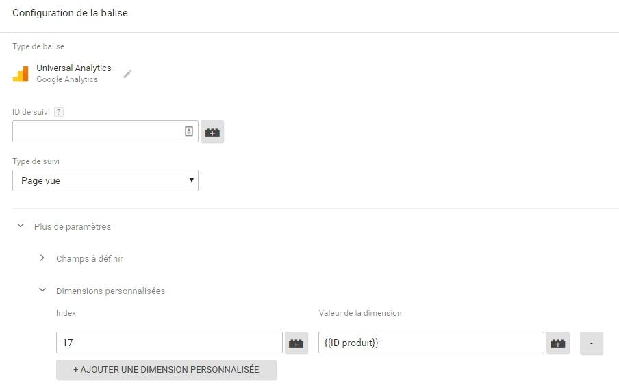Utilisation d'une variable custom JS dans GTM pour alimenter une custom dimension dans Google Analytics